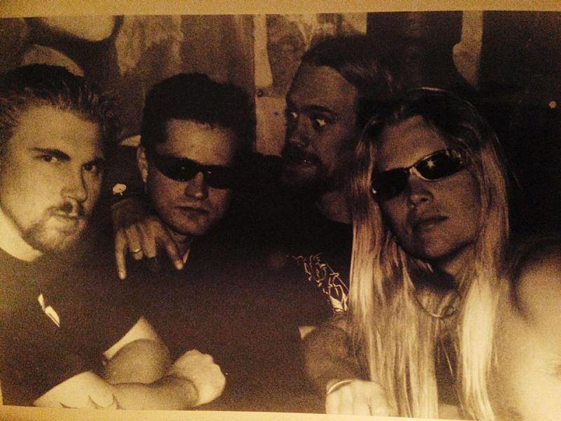 Found some old promo photos 'Punk Rock City' era!