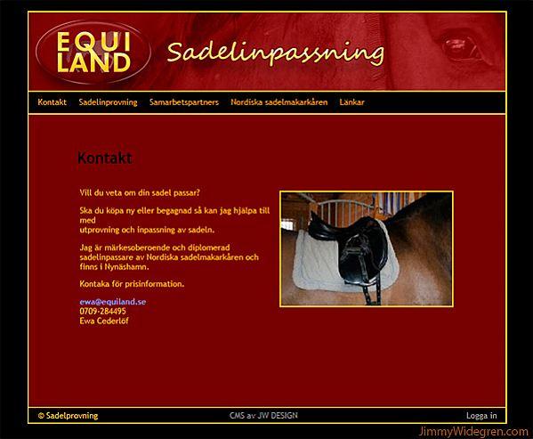 Equiland Sadlar
