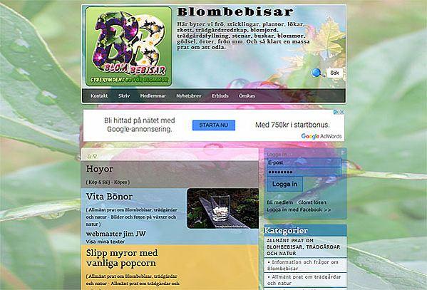 Blombebisars Fröbibliotek