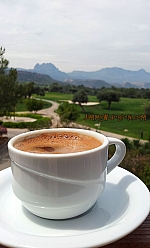 Mer turkiskt kaffe