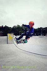 Skate bowl exits
