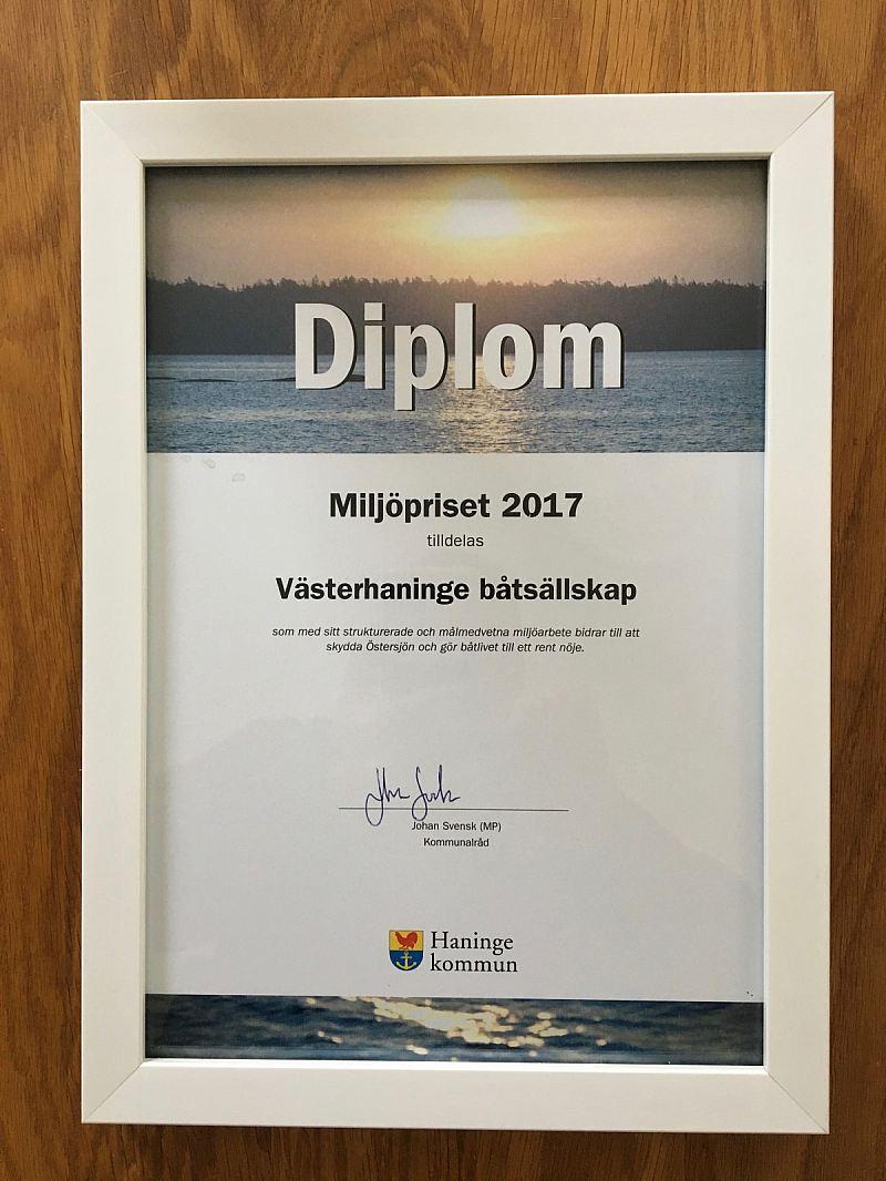 Vinnare miljöpriset 2017