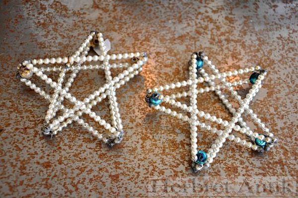 Nr: 156 två Julstjärnor