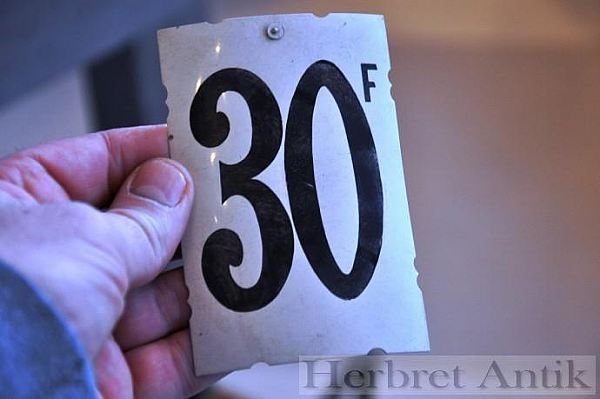 290 Sifferskylt nr: 30