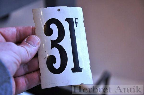 291 Sifferskylt nr: 31