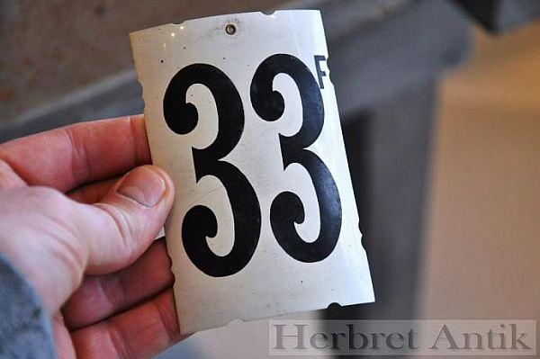 292 Sifferskylt nr: 33