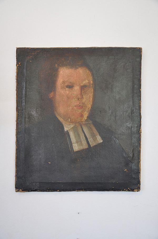 1192 Porträtt, olja på duk