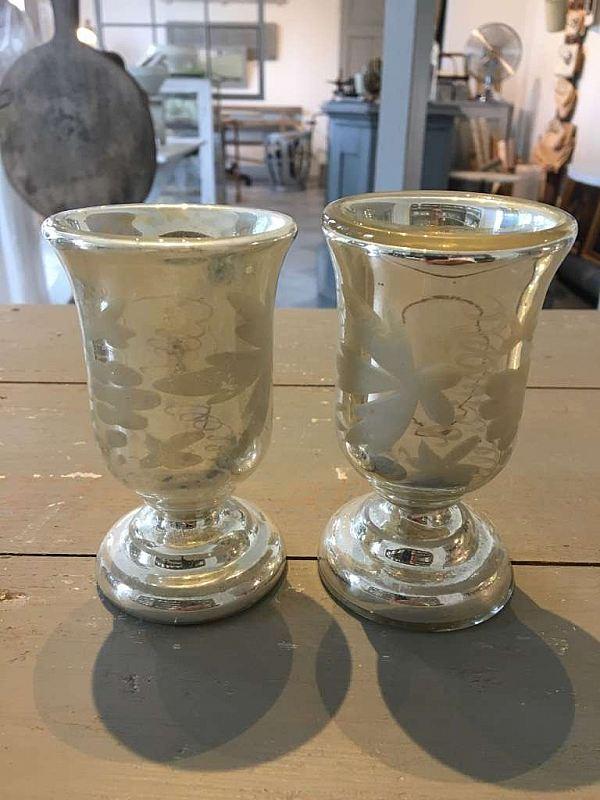 1983 Fattigmanssilver glas