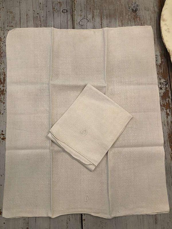 2166 Linne handdukar 2st   RESERVERADE