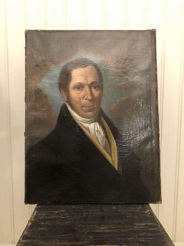 2173 porträtt i olja