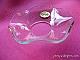 1010 Glasmanschett klar vågig