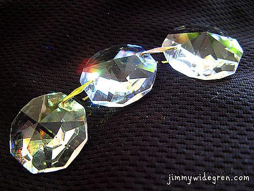 Kristallkedja 3x20 mm