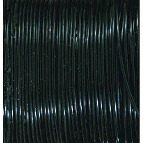 Koppartråd, svart 0,5 mm x 5 m