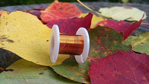 Färgad Koppartråd, koppar 0,3 mm x 4 m