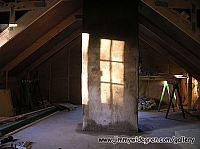 Ny murad och putsad skorsten