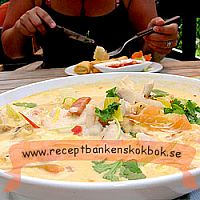 Thai soppa - Tom Kai Gai