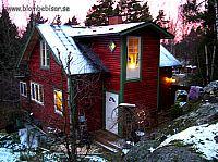 Morgonljus på huset