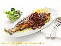 Pestofylld fisk