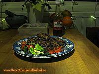 Thaibiffar med curry bild