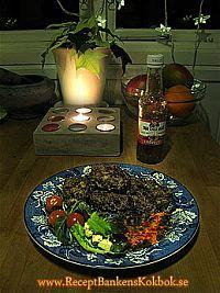 Thaibiffar recept och bild