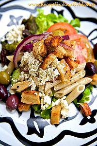 Vegetarisk Grekisk Sallad