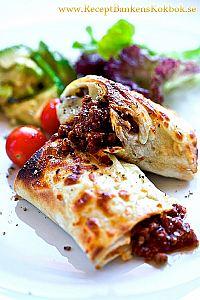 Vegetarisk Quorn Burritos