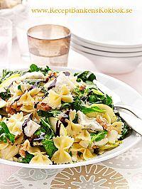 Insalata con spinaci e gorgonzola