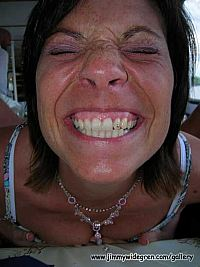 Jag använder tandtråd