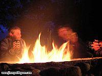 Jenny, anders vid eldstaden