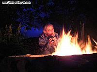 Jenny, vid eldstaden