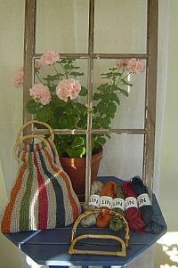 Väska i Lingarn från Yll och tyll