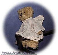 ängel nalle med  kläning