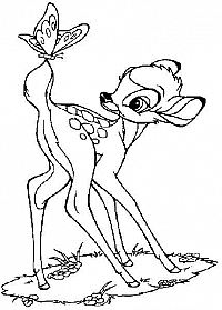 måla bambi