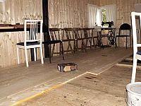 golvet  börjar  bi  ett riktigt  golv